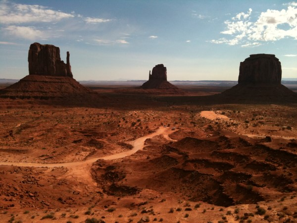 Una de las fotos más famosas del Monument Valley