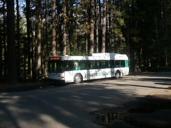 Servicio gratuito de autobuses dentro del Parque de Yosemite