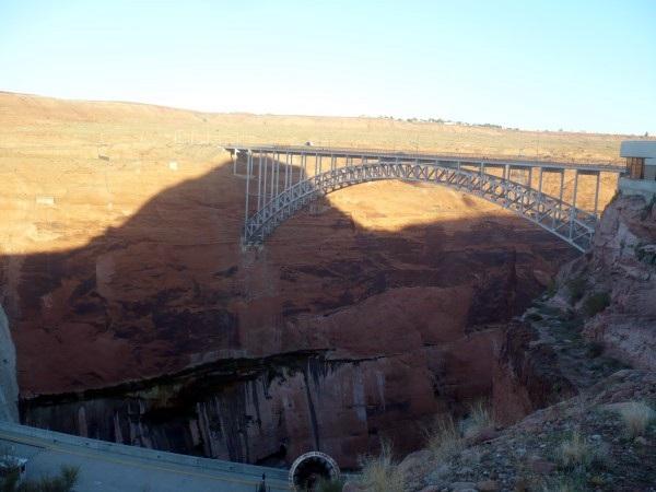Puente de la presa Glen Canyon