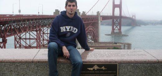 En el famoso Golden Gate de San Francisco