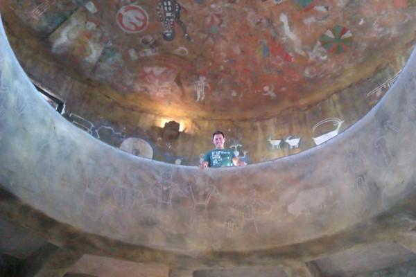 Pinturas del interior de la torre
