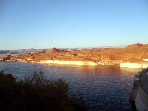 Lago Powell desde la presa
