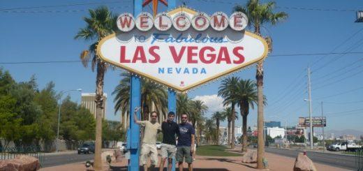 Famoso cartel de las Vegas