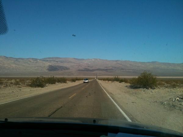 Carreteras rectas infinitas, como les gusta a los americanos