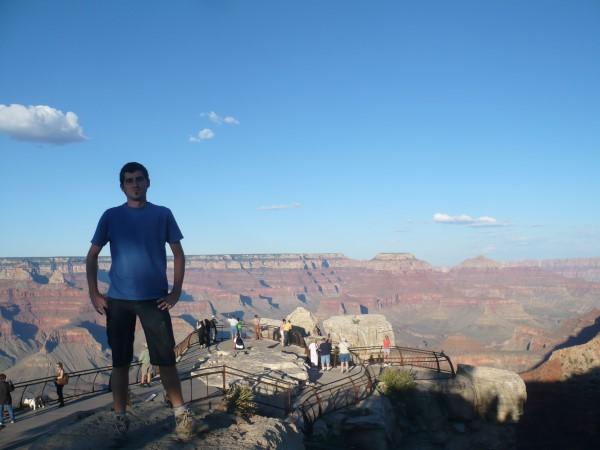 En el Mather Point del Gran Canón