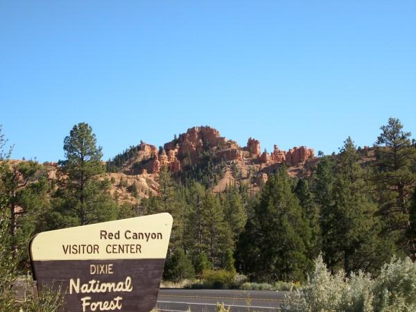 En el Parque Nacional de Red Canyon
