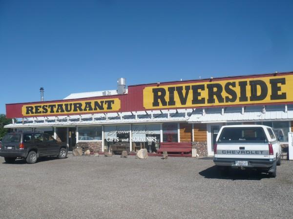 Restaurante de carretera, americano total