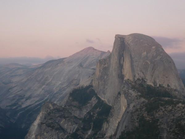 El Half Dome desde Glacier Point