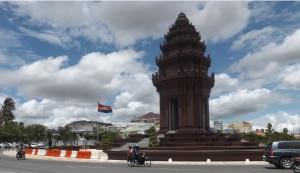Monumento Independecia Phnom Penh