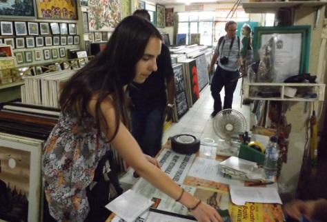 Comprando Arte Batik