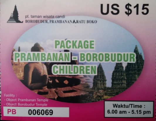 Ticket Combo Prambanan y Borobudur con descuento de estudiante