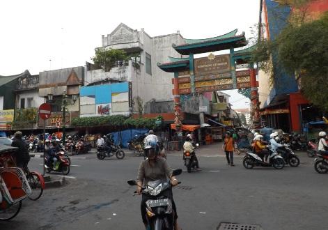 Otra foto de la calle Malioboro