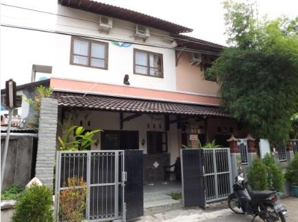 Fachada de nuestro hotel en Yogyakarta, Ostic House