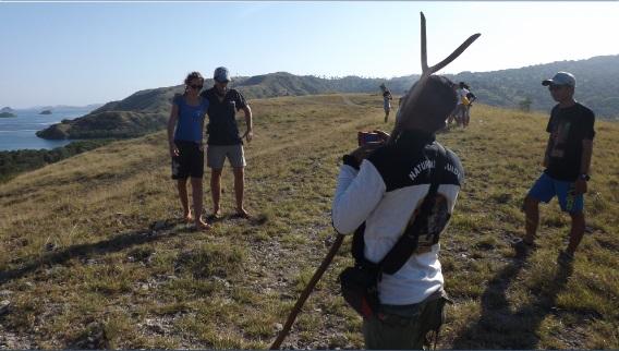 El arma letal del ranger contra los dragones de Komodo, el PALO