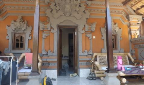 Nuestra habitación en Ubud