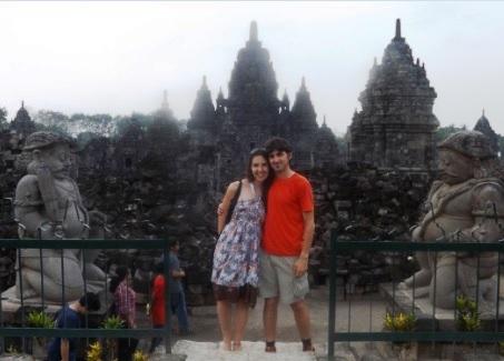 Templo Sewu en Prambanan