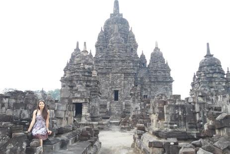 El templo Sewu más de cerca