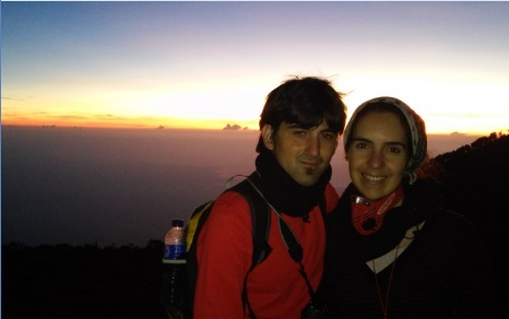 Amanecer en el volcán Ijen