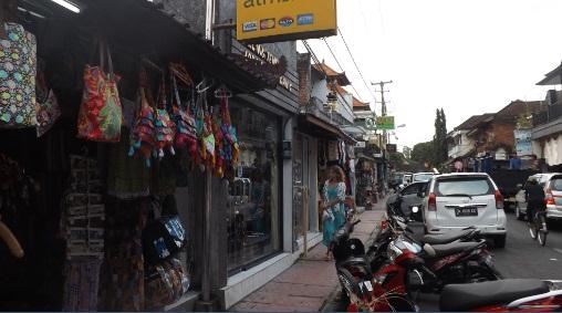 Calle típica Ubud
