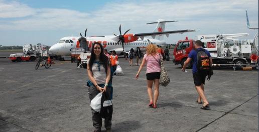 Nuestro avión a Ende
