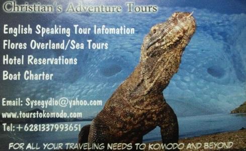 Contacto de Christian's Adventure Tours
