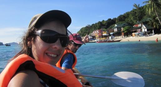Selfie en el Kayak