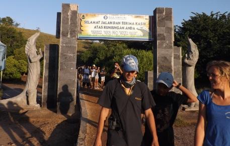 Entrada Oficial Parque Nacional Rinca Loh Buaya