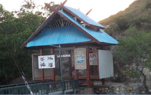 Entrada Parque Nacional Rinca Loh Buaya