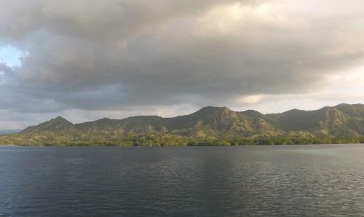 Alrededores de la isla de Kalong