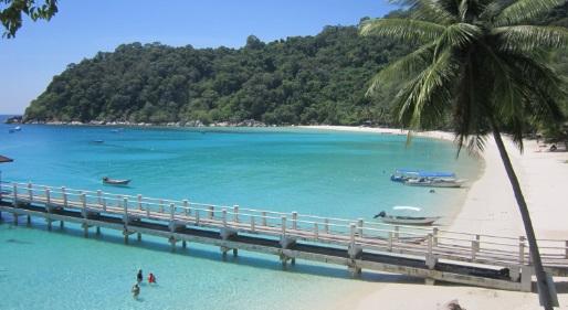 Vistas de la playa Perhentian Island Resort