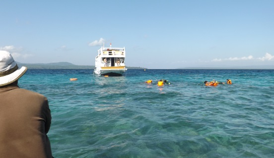 Snorkel en la isla de Satonda