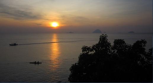 Atardecer en Coral Bay