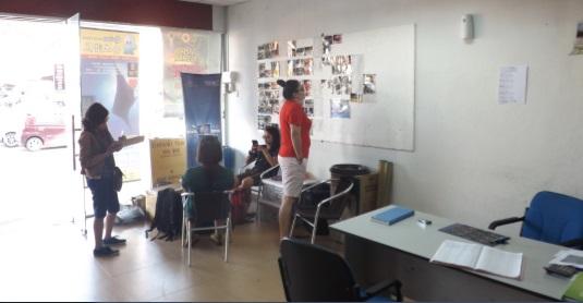 Oficina de Symphony en Kuala Besut