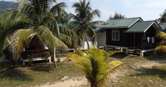 Vistas desde el bungalow del Mama's