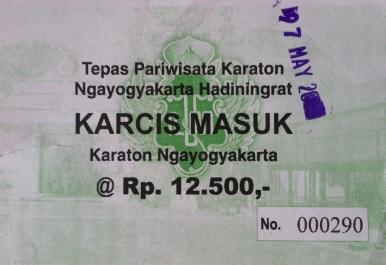 Ticket Kraton Yogyakarta