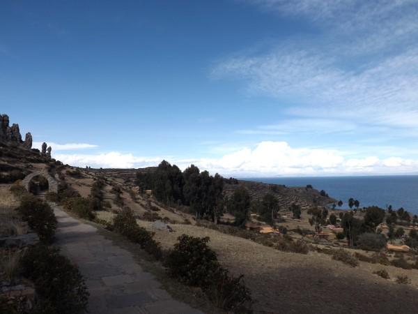 Vistas de la isla de Amantaní