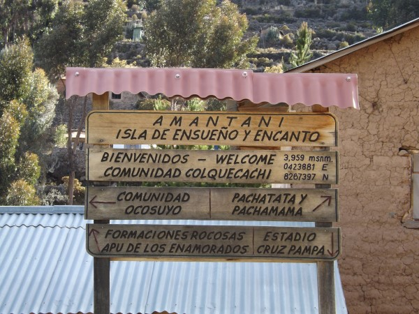 Nos hospedamos en la comunidad Colquecachi