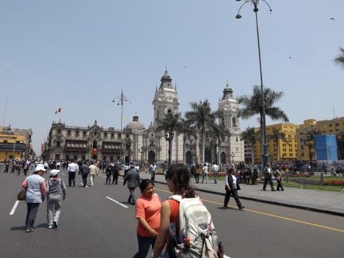 Catedral y Palacio Arzobispal de Lima