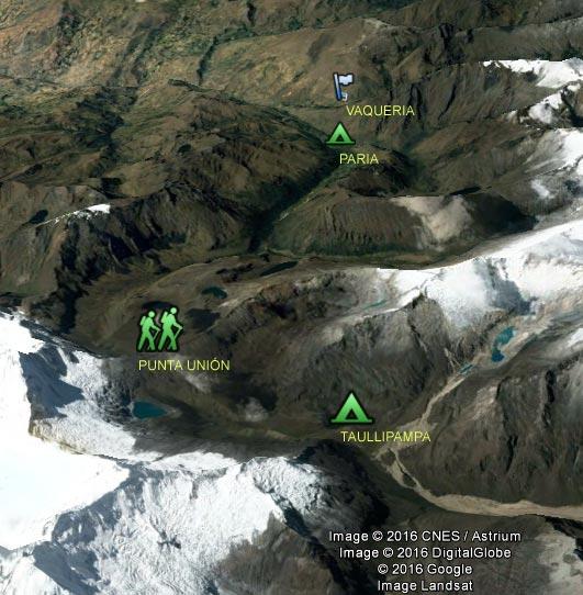 Mapa 3D Día 3 Santa Cruz Taullipampa – Paria