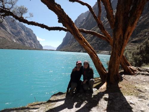 Nosotros en la Laguna de Llanganuco