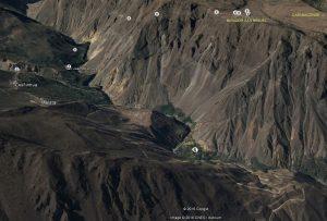 Mapa 3D Trekking Cañon Colca