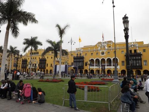 Palacio Municipal y Club de la Unión