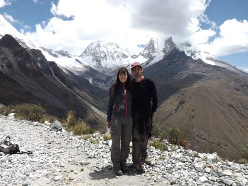 Vistas de la Cordillera Blanca desde el Portachuelo de Llanganuco
