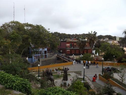 El Puente de los Suspiros en el barrio de El Barranco