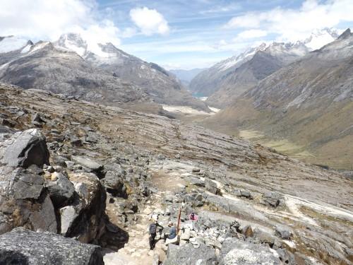 La Quebrada de Santa Cruz desde Punta Unión