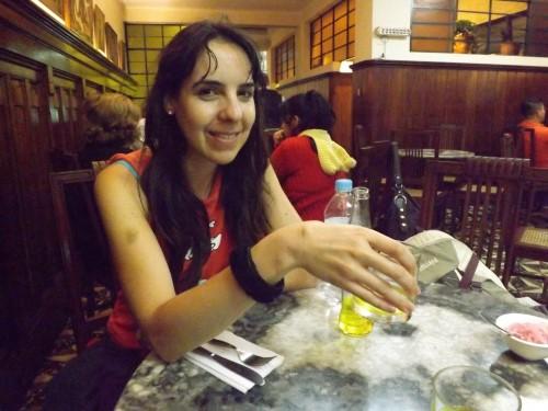 Cenando en Las Mesitas, el Barranco