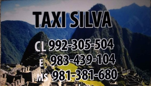 Taxi aeropuerto Lima