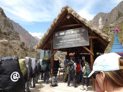 Control de acceso del Camino Inka