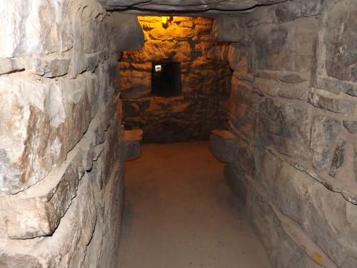 Galería del interior de Chavin