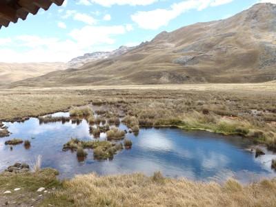 Ojo de agua de Pumashimi o Laguna de 7 colores